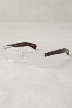 Eyebobs Transparency Reading Glasses Clear 1.00x Eyewear  #anthrofave #anthropologie