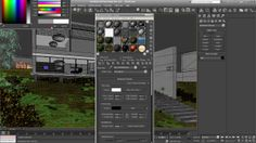 Environment part 2. In this tutorial you will learn how to create a lighting simulation and base shaders for a day architectural scene. Proj...