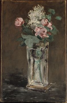 :: Édouard Manet - Flowers in a Crystal Vase ::