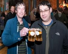Real-Ale drinkers at Derby Beer Festival.
