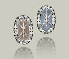 Victoria Kay White Diamond Crown Ring in Sterling Silver, Size 7 - Top Drawer Jewelry Diamond Crown Ring, Diamond Earing, Jar Jewelry, Fine Jewelry, Lotus Jewelry, Blue Tourmaline, 12 November, Peach Moonstone, Jaba