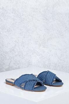 M. Gemi Denim Slide Sandals w/ Tags clearance great deals oTWYC