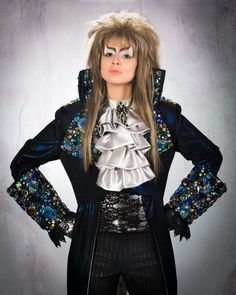 Jareth the Goblin King from LabyrinthCosplayer/Submitter Ebony Amber  sc 1 st  Pinterest & Goblin King costume worn by David Bowie in Labyrinth. (Photo credit ...