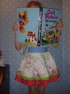 Festival skirt cath kidston print and polka dots by LittleBinks