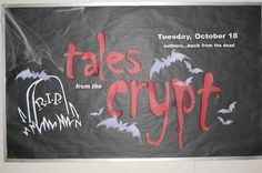 Tales from the crypt bulletin board