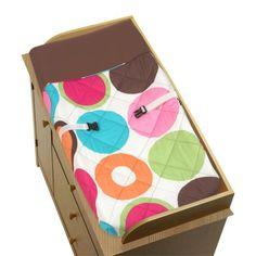 Sweet Jojo Designs Deco Dot Changing Pad Cover - Target $27.00