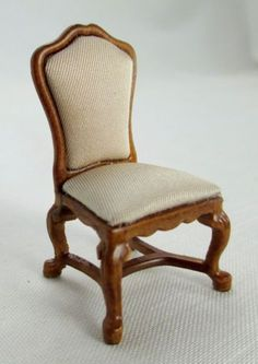 Miniature dollhouse 1:24 scale half scale Spanish arm chair JBM 1101 | eBay