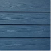 BuildDirect: Fiber Cement Siding Cedar Texture Blue Lava 1 Coat Acrylic 8 1/4 12'