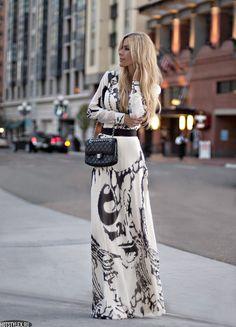красивые длинные платья фото