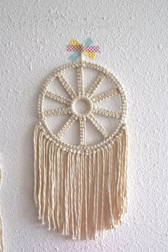 BOHOL Macrame dreamcatcher by MadeInLandes on Etsy