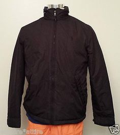 #POLO Ralph Lauren men size S full zip warm black coat $179 (with polyester filli RalphLauren visit our ebay store at  http://stores.ebay.com/esquirestore