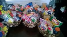 Party favors for paintball party - with custom made paint ball cookies.