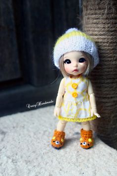Lati yellow / Pukifee outfits (dress only) by nubanded on Etsy https://www.etsy.com/listing/210228896/lati-yellow-pukifee-outfits-dress-only