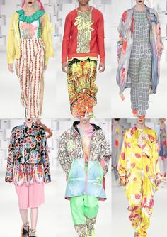 Patternbank brings you a snapshot of the key prints seen at the recentLondon Graduate Fashionweek, which took part over four days at East London's Truman