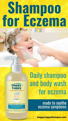 Daily use of an eczema shampoo can go a long way to relieve symptoms. Eddie's Daily Shampoo & Body Wash is the only eczema cleanser formulated for children. Eczema Shampoo, Ayurvedic Practitioner, Itchy Rash, Eczema Symptoms, Shoulder Massage, Hair Spa, Body Wraps, Body Treatments, Medical Conditions