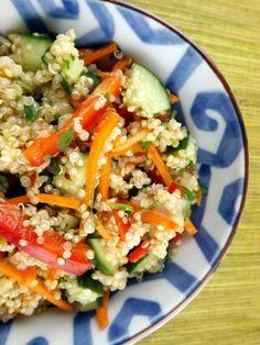 Thai-Style Quinoa Salad | perennialpastimes.com