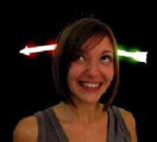 Flashing Arrow Head. Typical headwear for a great effect at Halloween. http://www.novelties-direct.co.uk/flashing-arrow-head.html