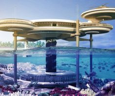 If you love unique, luxury hotels in exotic locations then keep your eye on Dubai, and, it's newly planned underwater hotel tentatively named Water Discus Hotel. The proposed hotel to be built.. will feature just 21 guest rooms that are underwater in the Persian Gulf.