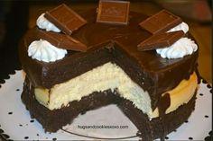 Chocolate Layer Cake Cheesecake