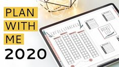 DIGITAL PLAN WITH ME | 2020 | Digital Planner   Bullet Journal #digital Digital planners