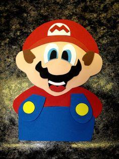 Super Mario Brothers. $9.50, via Etsy.