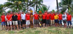 Als Incentive-Agentur haben wir bereits für zahlreiche namhafte Firmen spektakuläre Incentive-Reisen & Events organisiert. Ob Incentive-Reisen, Firmenevents, Firmenjubiläen oder Seminare - als Incentive-Spezialist sind wir breit aufgestellt. Ein Highlight im vergangenen Jahr war sicherlich der Besuch des FIFA World Cup 2014 in Brasilien.  Hier sehen wir eine unserer Reisegruppen am Strand von Salvador da Bahia. Faltin Travel-Wir liefern Emotionen #sportreisen #reisen #travel #Fussball…