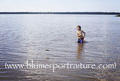{Blumer Portraiture | Mt. Pleasant, MI Photographer} : The best skipping stone ever!