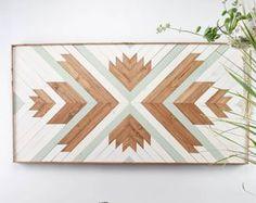 Wood Wall Art - Wooden Wall Art - Wood Headboard - Wood Art - Wooden Wall Art Hanging - Modern Wood Art - Boho Wood Art - Wood Wall Decor