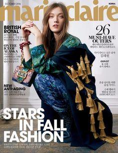 Marie Claire Korea October 2016 Cover (Marie Claire Korea)