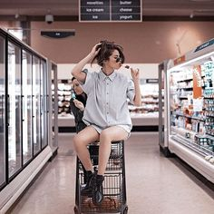 Selena Gomez Took What Might Be the Most Stylish Supermarket Instagram Yet http://www.vogue.com/13438156/selena-gomez-supermarket-style-instagram/ #InstagramNews #InstagramTips