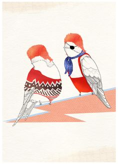 Little Doodles is the blog of London based illustrator Kate Wilson #illustration
