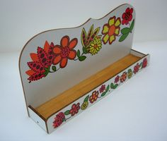 Gorgeous Retro Spice  Herb Rack Funky by RaggleTaggleHawker, £24.99