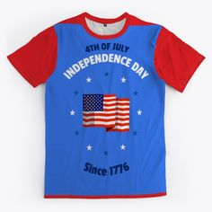 4 Th July 1776 Products from Sam Shop | Teespring Store, Mens Tops, T Shirt, Shopping, Products, Tent, Tee, Shop Local, Larger