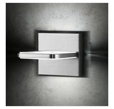 Wega Square LED Wall Sconce by Holtkoetter