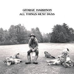 All Things Must Pass by George Harrison (1970) / 42 Classic Black And White Album Covers via BuzzFeed