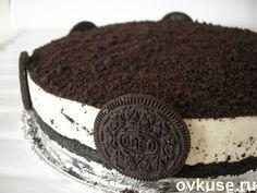 """Торт без выпечки из печенья """"Орео"""""""