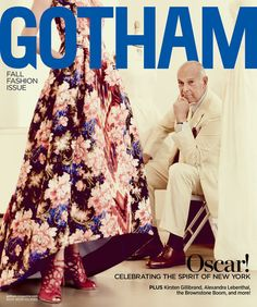 Gotham Magazine September 2013 cover