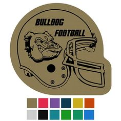 Custom Football Helmet Classic Rubber Medium Jar Opener Item (Min Qty: Decorate your Promotional Jar Openers with your business logo and with no setup fees. Bulldogs Football, Custom Football, Football Season, Business Logo, Football Helmets, Promotion, Company Logo, Jar, Seasons