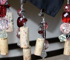 Wine Cork Tablecloth Weights Recycled set of by SprinkleandSparkle, $28.00