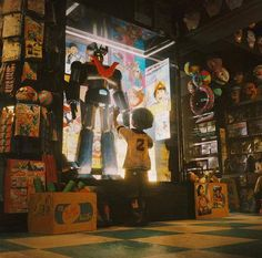 Toy Store, The 4, Concept Art, Digital Art, Transformers, Toys, Artist, Painting, Instagram