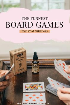 Wondering how to entertain guests this Christmas? Board games are always a perfect way to bring parties together, so we've put together the best board games to play at Christmas this year! Family Board Games, Family Boards, Fun Board Games, Games For Kids, Games To Play, Christmas Board Games, Chicken Games, Christmas Medley, Lost Money