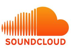 Soundcloud as the name suggests is a cloud based music sharing service, the first half represents sound waves and the solid part of the logo represents cloud storage