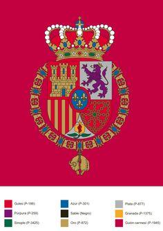 Estandarte de S.M. el Rey Felipe VI de España