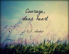 Curaj, dragă inimă! C.S. Lewis