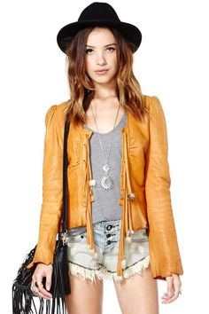Lonely Hunter Leather Jacket