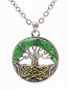 Celtic Tree of Life Pewter Necklace from www.amazon.com - $13.99