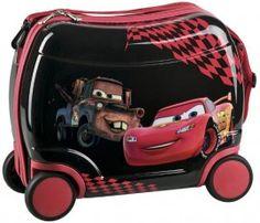 Voglia di Vacanza World Grand Prix . Valigia Rigida Trolley Disney Cars 2