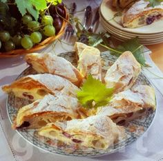 Receptek Lajos Mari konyhájából - Bécsi szőlős- túrós rétes
