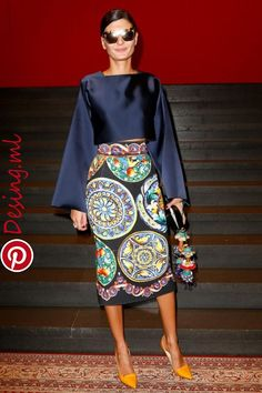 Dolce & Gabbana Spring 2015 Ready-to-Wear - Front-row - Gallery - Look 1 - Style.com | Great style in 2019 | Pinterest | Fashion, Dresses and Read Dolce & Gabbana Spring 2015 Ready-to-Wear - Front-row - Gallery - Look 1 - Style.com | Great style in 2019 | Pinterest | Fashion, Dresses and..