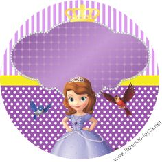 Sofia the First: Free Printable Kit.